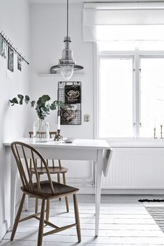 Fresh and white kitchen