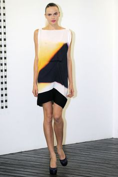 Victoria Beckham 2010 Ready to Wear: Smock, undermost garment, a shift
