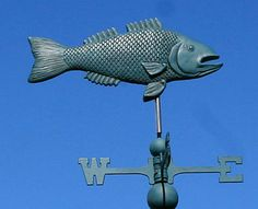 Brewster Fish Cottage Style Weathervane - Great!