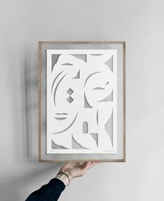 Image of Face White · Papercut