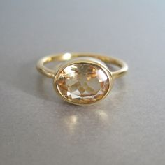 Citirne Oval Ring