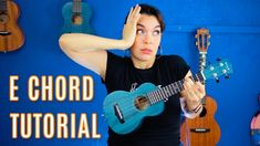 How To Play E Chord - Crash Course Crash Course Youtube, Music Education Activities, Tenor Ukulele, Japanese School, Elementary Music, Classroom Inspiration, Music Classroom, Teaching Music, My Music