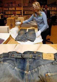 World's Oldest Levi's Jeans