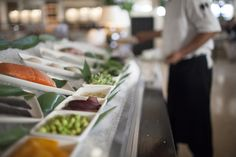 Join us for Raw Wednesdays with a Crudo Bar!