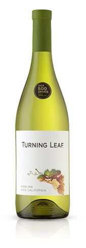 My new favorite wine-Riesling from Turning Leaf Vineyards