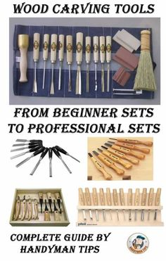 Handyman tips guide through wood carving tools! Learn all about beginner sets and sets for master carvers! Choose the set that suits you best and start carving!