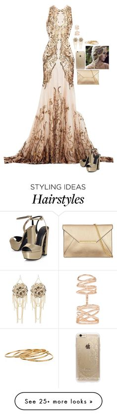 """Untitled #662"" by merlinchick on Polyvore featuring KG Kurt Geiger, Rifle Paper Co, Bebe, Satya and Repossi"