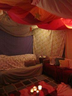 tent ceiling! #fort #tent #interior