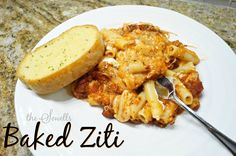 Toddler Approved Baked Ziti!