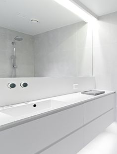 modern minimalistic bathroom