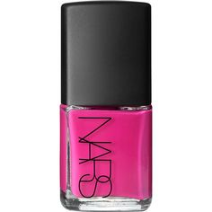 NARS Nail Polish - Schiap (85 MYR) ❤ liked on Polyvore featuring beauty products, nail care, nail polish, nails, beauty, makeup, cosmetics, colorless, pink nail polish and clear nail polish