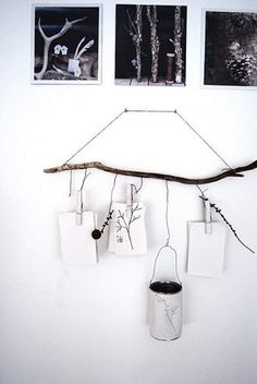 60+ Simple & Creative Ideas to Use Wood Branches into Your Home Decoration • Recyclart