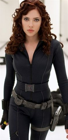 Black Widow. Legit. Her hair is amaaaaazzziiinng!