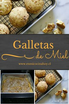 Cookie Desserts, Easy Desserts, Cookie Recipes, Delicious Desserts, Baking Powder Biscuits, Mexican Sweet Breads, Vegan Pastries, Chilean Recipes, Super Cookies
