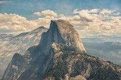 Fine Art Photograph  Solemn Giant  Half Dome Yosemite
