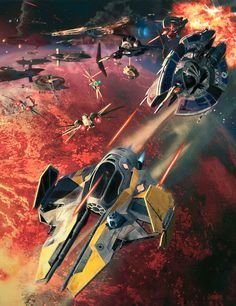 Star Wars Jedi Starfighter - WotC / Lucasfilm