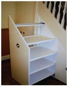 Under Stair Storage Solution....Is my virgoness showing?
