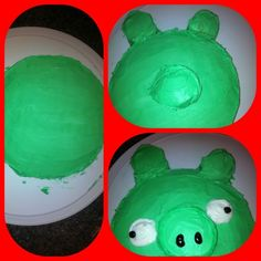 How to Make an Angry Bird Pig Cake   Party Planning Professor