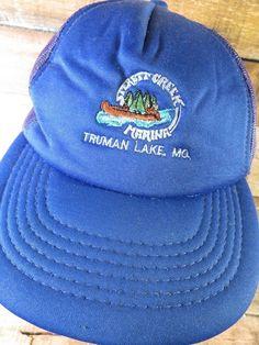 7527d609ea Sterett Creek Marina Truman Lake Missouri Trucker Snapback Adult Cap Hat   fashion  clothing  shoes  accessories  mensaccessories  hats (ebay link)