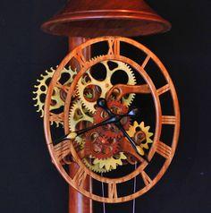 Портфолио Гари Джонсона ручной работы Вуд Часы