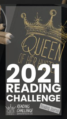 Queen of Her Hustle Reading Challenge Full House, Bingo, Lead Page, Leadership, Reading Facts, 12th Book, Reading Challenge, Book Gifts, Book Lovers