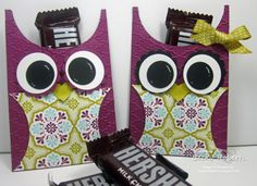 Owl Treat Holders