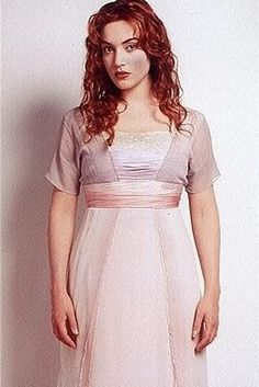 Kate Winslet as Rose Dowson in Titanic