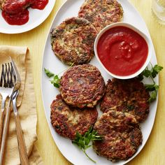 Don't settle for ho hum vegetarian cuisine when you can make something that will get everyone super excited, like these Spinach & Roasted Red Pepper Tofu Croquettes!