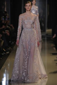 Bridal Style Inspiration: Ode to Delicateness by Elie Saab   OneWed