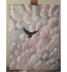 Acrylic on canvas painting 30 cm x 40 cm Bird Set Free, Love Painting, Paintings, Canvas, Instagram, Art, Tela, Art Background, Paint
