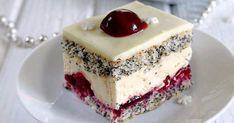 Ciasta - Ciasto wiśniowa panienka Cookie Desserts, Sweet Desserts, Cookie Recipes, Dessert Recipes, Food Cakes, Cupcake Cakes, Romanian Desserts, Torte Cake, Polish Recipes