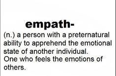 empath - emotions