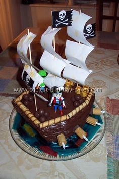 Do I know a little boy having a Pirate birthday party?