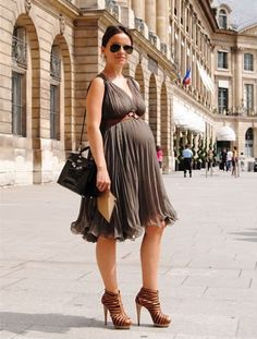 GOAL: SKINNY PREGNANT pregnant in heels indeed