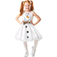 Frozen 2 Olaf Tutu Dress Costume - Size 4-6