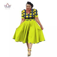 Online Shop Plus Size Clothing 2018 summer Dress African Pri... African Fashion trends