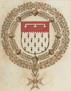 Tout sur l'héraldique : dessin de blasons et d'armoiries: Armorial du Saint-Esprit : Jean d'O