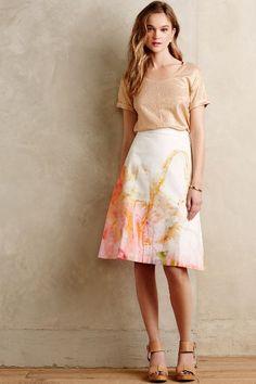 Painter's Palette Skirt - anthropologie.com #anthrofave
