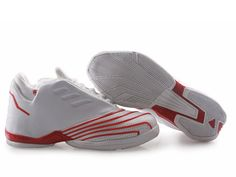 best service 58b5d 5e319 Tracy Mcgrady 2 Shoes White Red