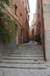 Scorcio del quartiere di Castello a Cagliari