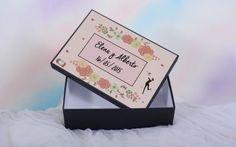 Recuerdo Personalizado siempre mi mamá corazón Metal Lata Caja Regalo De Día de las madres presentes