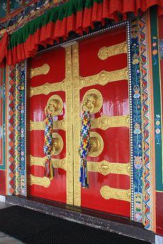 At Sera Jey Monastery by Indrani Ghose    Shot taken at Sera Jey Tibetan monastery, Kushaal Nagar, Coorg, Karnataka.