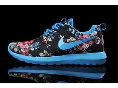 Lightning Shoes-Nike Woman's Roshe Run Print London Olympics