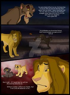 outcast by on DeviantArt Lion King Drawings, Lion King Art, Photo To Cartoon, Disney Lion King, Hyena, Fairy Tail, Disney Pixar, I Am Awesome, Deviantart