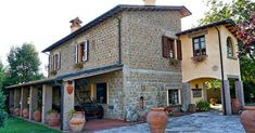 Locanda Pantanello is a restored 1700 stone farmhouse near Pitigliano. Highlights: cleanliness, hospitality and an exceptional pool. Home And Away, Agriturismo Tuscany, Covered Pool, My House, Restoration, Corner, Farmhouse, Italy, Mansions