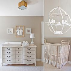 All-White Nursery From Nesting LLC   POPSUGAR Moms