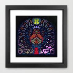 Sage of Earth Framed Art Print by Joshua A. Biron - $35.00