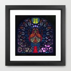 Sage of Earth Framed Art Print by Joshua A. Biron - $35.00