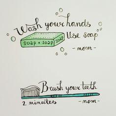 #handletteren #illustratie #handlettering #illustration #mom