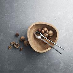 Georg Jensen nut cracker and bowl Timeless Design, Modern Design, Serveware, Tableware, Danish Design, Serving Dishes, Wood Turning, Icon Design, Simple Designs